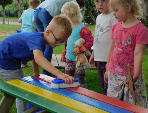 Regenbogen Sommerfest